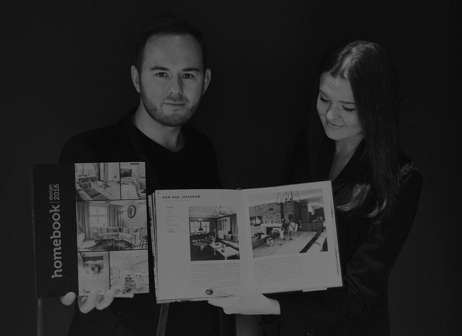 Architekt wnętrz Emilia Strzempek Plasun oraz architekt wnętrz Krzysztof Plasun - publikacja realizacji w Homebook 2016