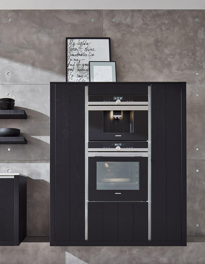 Meble kuchenne na wymiar Black - kuchnie w ofercie SAS Wnętrza i Kuchnie