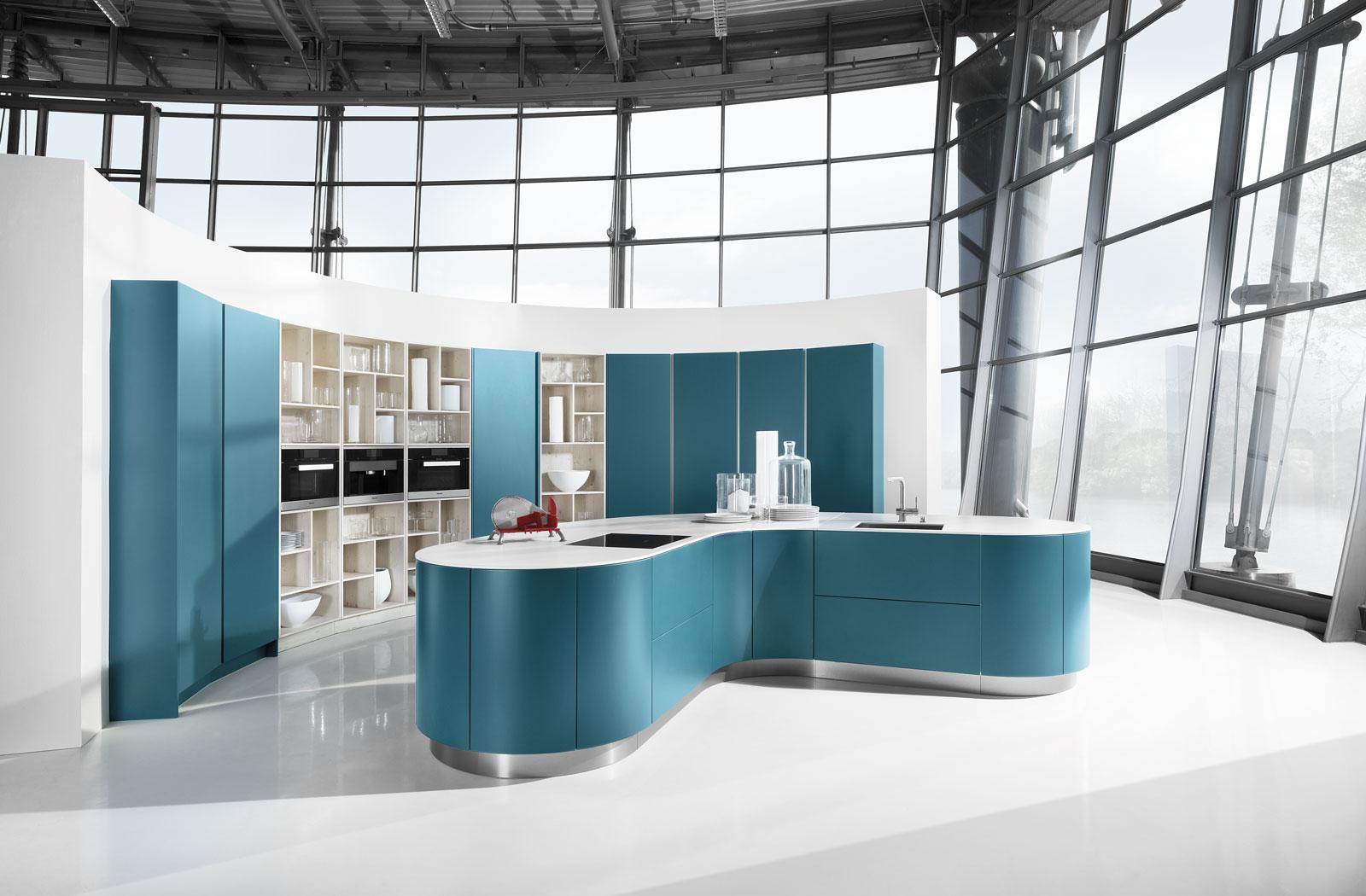 Meble kuchenne Petrol - wyspa kuchenna - oferta SAS Wnętrza i Kuchnie - Meble Kuchenne i Projektowanie wnętrz.