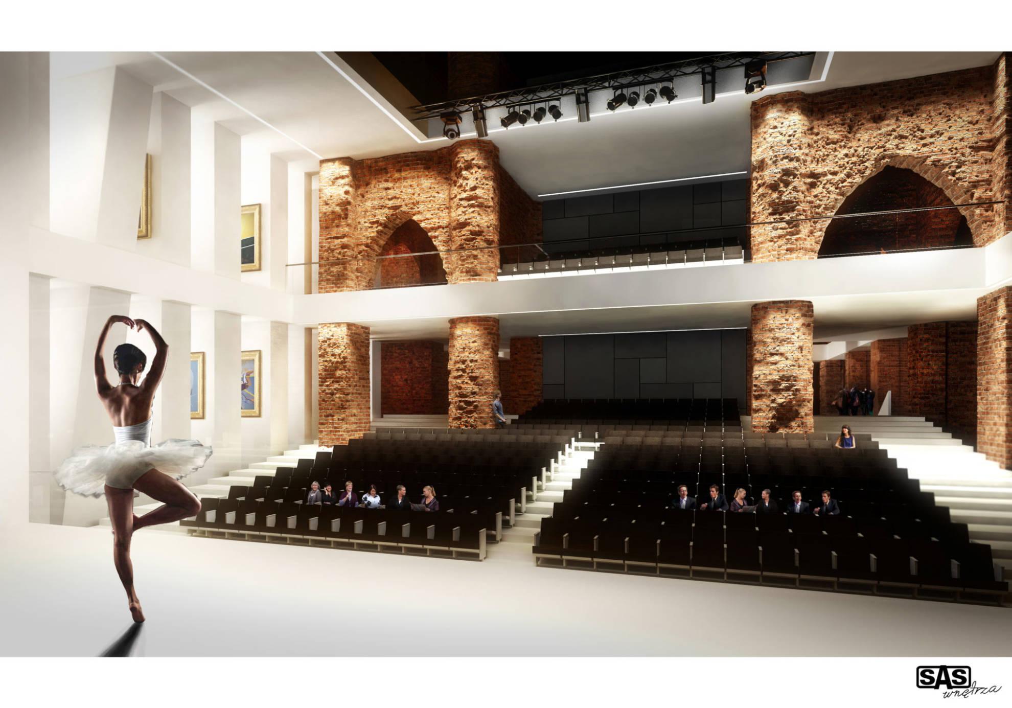 Projekt aranżacji przestrzeni publicznej - architekt wnętrz Emilia Strzempek Plasun