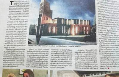 Architekt wnętrz Emilia Strzempek Plasun - publikacja w gazecie codziennej