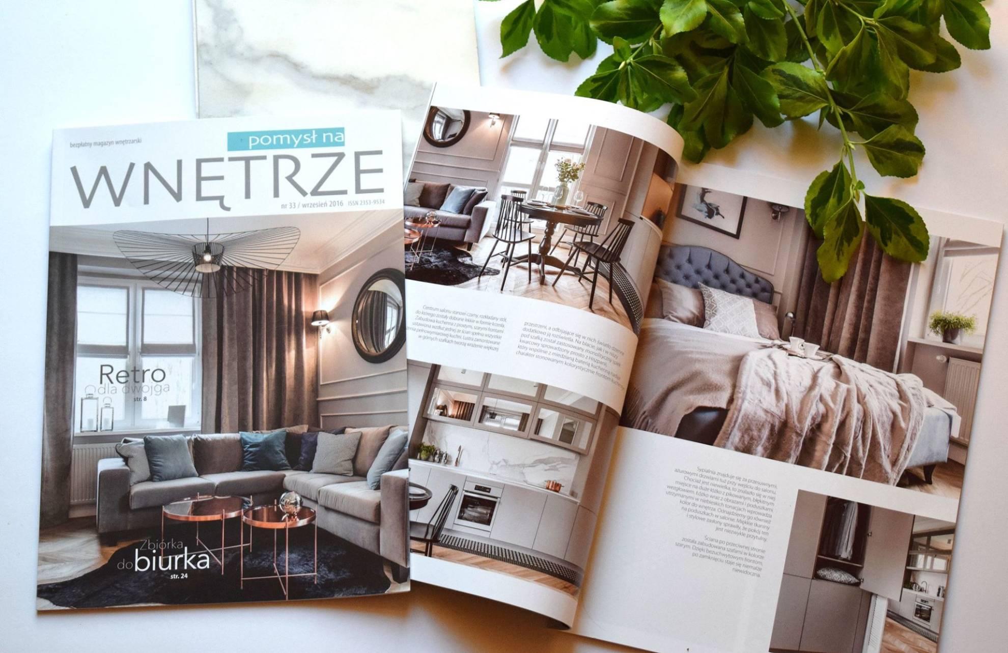 Aranżacja wnętrza mieszkania w kamienicy - architekt wnętrz Emilia Strzempek Plasun