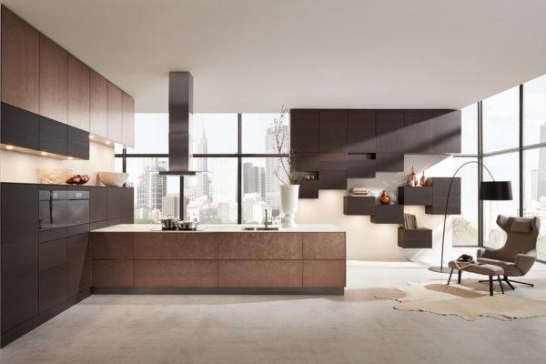 Meble kuchenne Bronze Metallic - oferta SAS Wnętrza i Kuchnie - Meble Kuchenne i Projektowanie wnętrz.