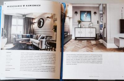 Aranżacja mieszkania w kamienicy - publikacja w czasopiśmie branżowym - SAS Wnętrza i Kuchnie