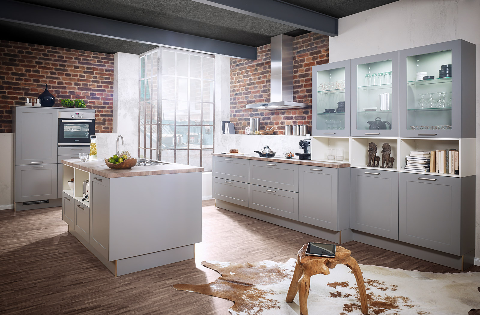 Meble kuchenne Lotus - efektowna aranżacja wnętrza kuchennego - oferta SAS Wnętrza i Kuchnie - Meble Kuchenne i Projektowanie wnętrz.