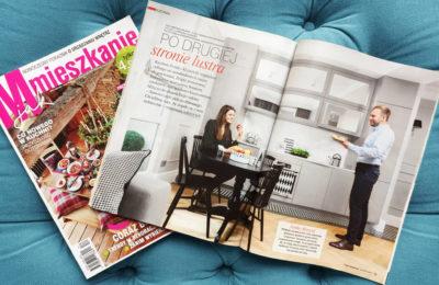 Aranżacja wnętrza SAS Wnętrza i Kuchnie w czasopiśmie M jak mieszkanie