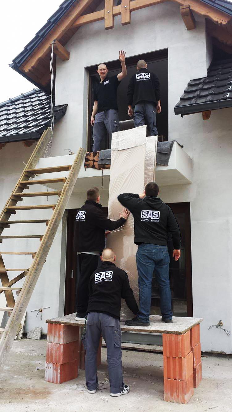 Montaż mebli na wymiar - SAS Wnętrza i Kuchnie