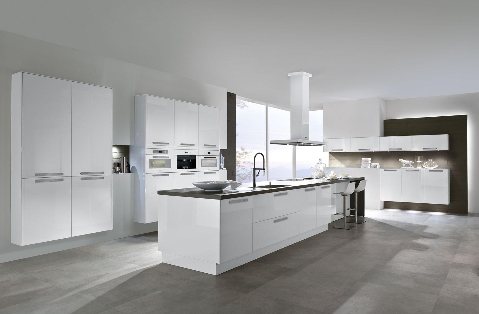 Meble kuchenne Brilliant White - oferta SAS Wnętrza i Kuchnie - Meble Kuchenne i Projektowanie wnętrz.