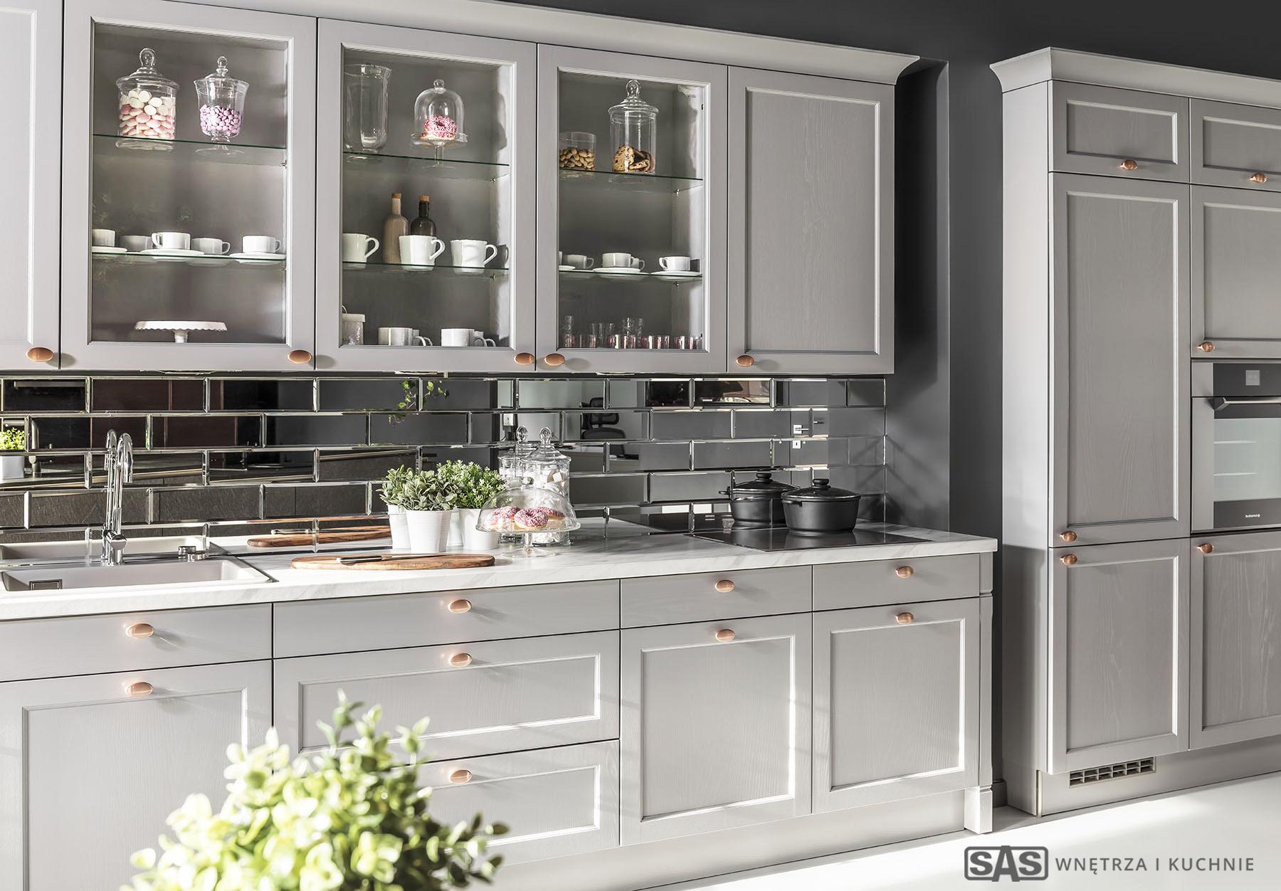 Meble kuchenne na wymiar Bristol- meble kuchenne SAS Wnętrza i Kuchnia, projekt architekt wnętrz Emilia Strzempek Plasun.