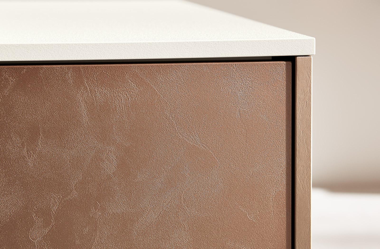 Meble kuchenne Bronze Metallic - fronty - oferta SAS Wnętrza i Kuchnie - Meble Kuchenne i Projektowanie wnętrz.