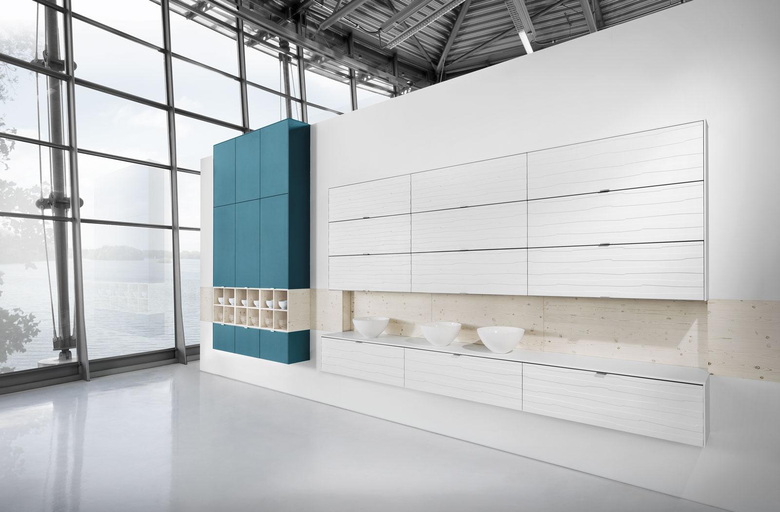 Meble kuchenne Petrol - ściana z zabudową - oferta SAS Wnętrza i Kuchnie - Meble Kuchenne i Projektowanie wnętrz.