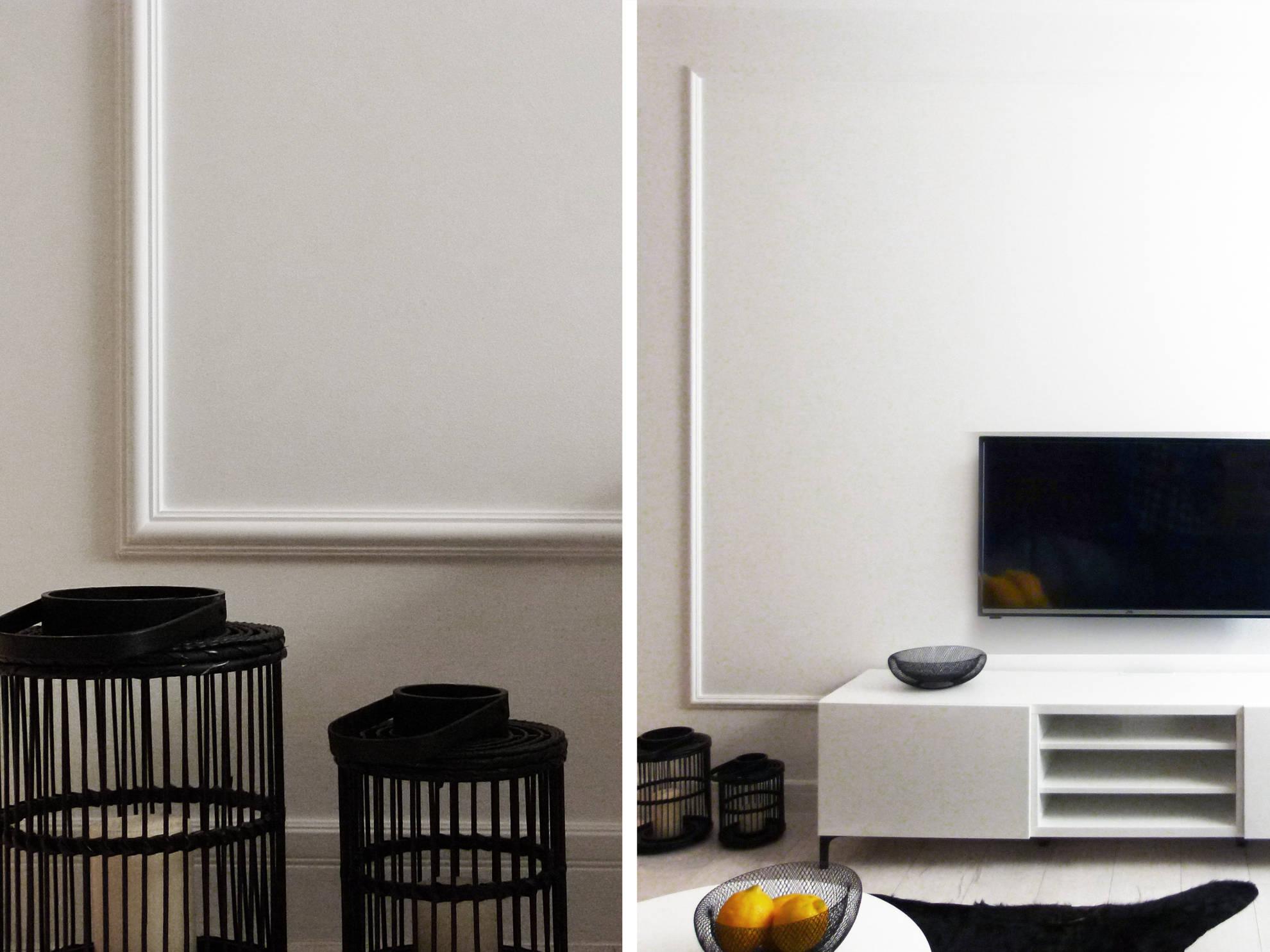 Projekt aranżacji mieszkania na wynajem - meble kuchenne wykonanie SAS Wnętrza i Kuchnie, projekt architekt wnętrz Emilia Strzempek Plasun.