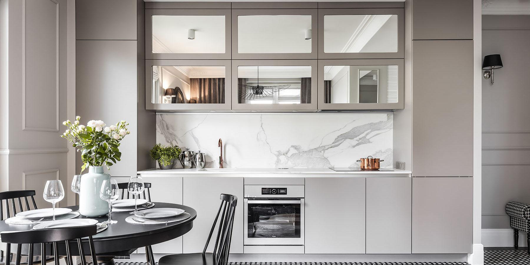 Meble kuchenne na wymiar - Gabriel - wykonanie SAS Wnętrza i Kuchnie. Projekt architekt wnętrz Emilia Strzempek Plasun.