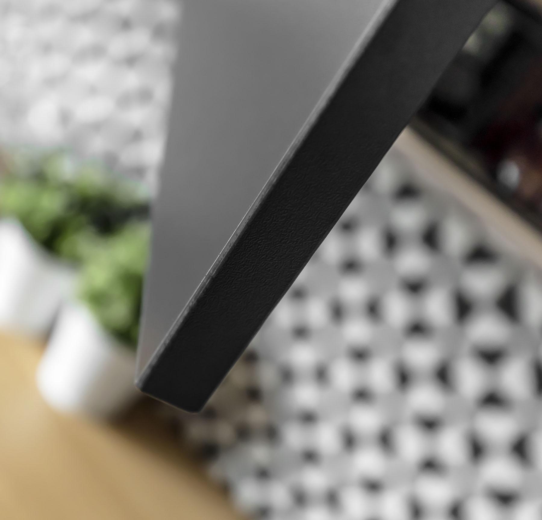 Meble kuchenne na wymiar - detal - front - wykonanie SAS Wnętrza i Kuchnie. Projekt architekt wnętrz Emilia Strzempek Plasun.