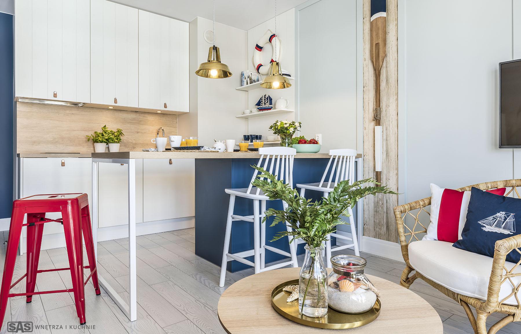 Meble kuchenne wykonanie SAS Wnętrza i Kuchnie, Projekt wnętrza Architekt Emilia Strzempek Plasun