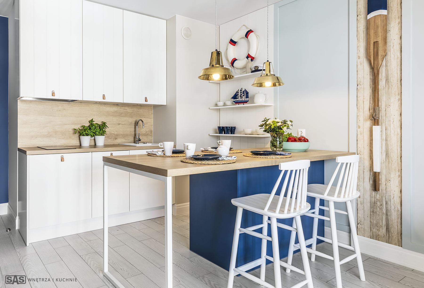 Wykonanie wnętrza: meble kuchenne SAS Wnętrza i Kuchnie, Projekt wnętrza Architekt Emilia Strzempek Plasun